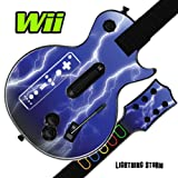 Mightyskins Skin Decal Cover for GUITAR HERO 3 III Nintendo Wii Les Paul - Lightning Storm