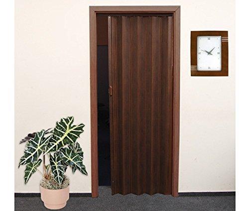 Porta a soffietto in legno di quercia Ruegen scuro, 86 x 203 cm ...