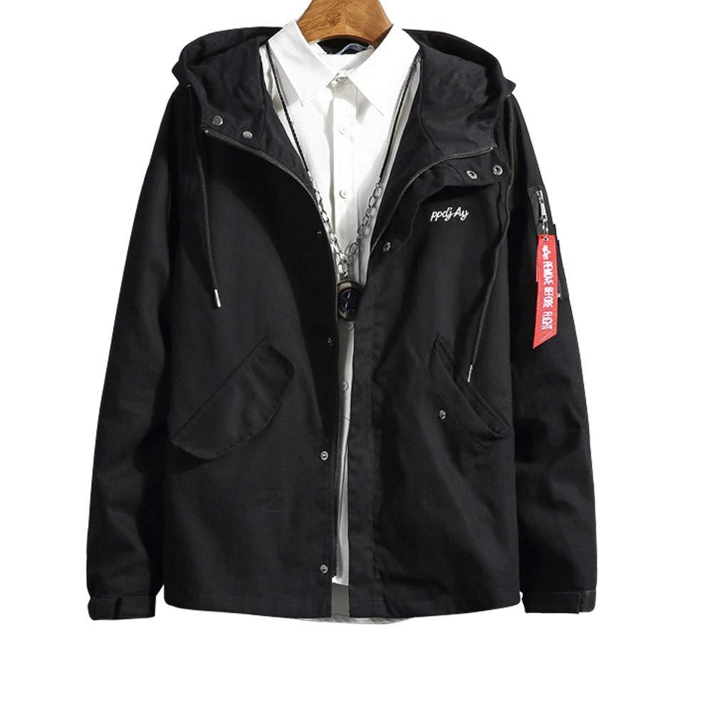 Flying.Cappotto Giacca Cotone Uomo Softshell Cappuccio Uomo Invernale Coat Trench Hooded Elegant Parka Warm Moda Jacket