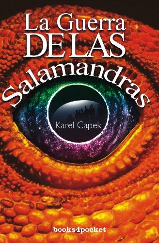 Guerra de las salamandras, La (Narrativa) (Spanish Edition)