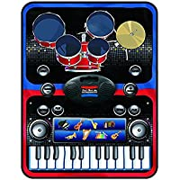Super Toys 2-in-1 Musical Jam Playmat (Carpet Piano), Musical Toy for Kids Above 3 Years (Multi-Color)