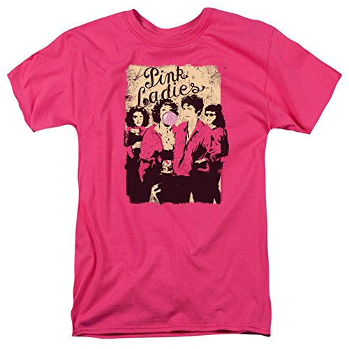 Grease Men's Pink Ladies Classic T-shirt XXX-Large Hot -