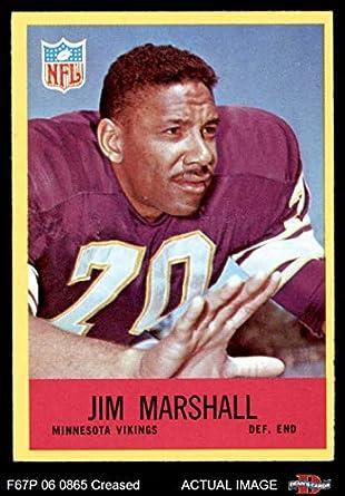 1967 Philadelphia   103 Jim Marshall Minnesota Vikings (Football Card)  Dean s Cards 3 - a93e53031