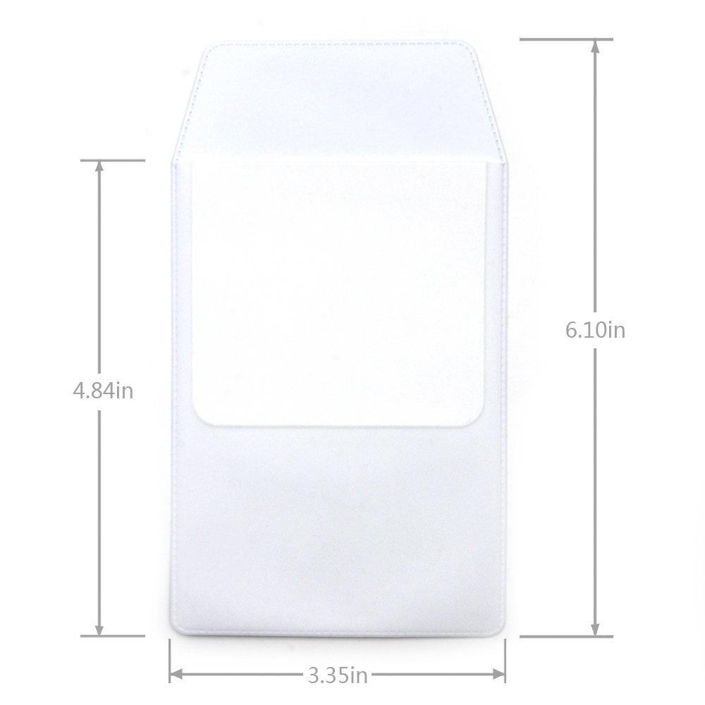KLOUD City 4 PCS White Pocket Protector for Pen Leaks by KLOUD City (Image #4)