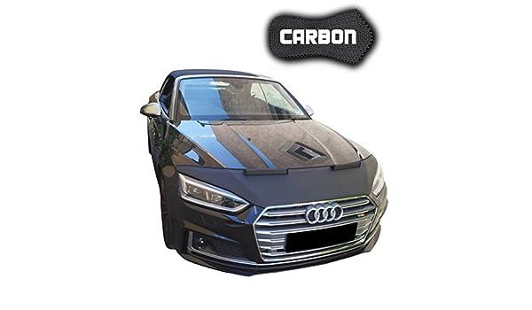 haubenbra Audi A5 F5 Carbon Auto Máscara para piedra Impacto Tuning Máscara Car Bra piedra Impacto Protección Máscara: Amazon.es: Coche y moto