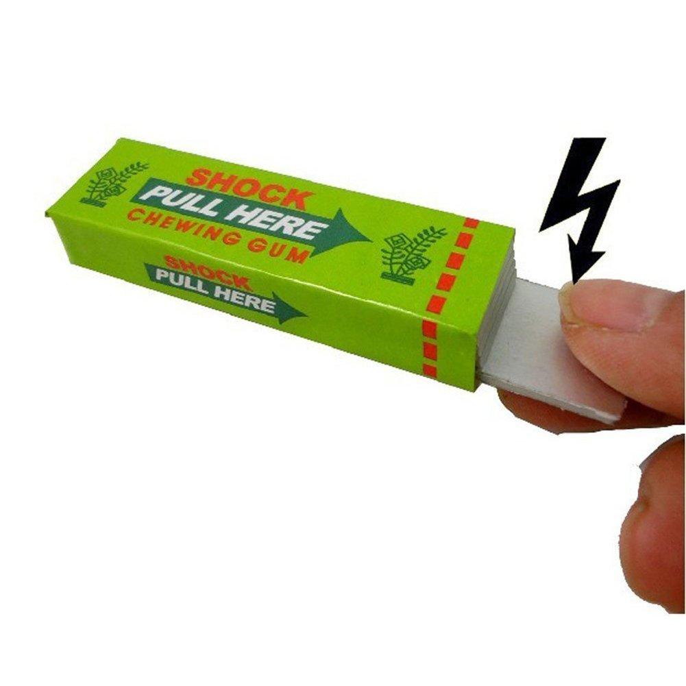 Schlag-Freund-praktischer Witz Schlag-Kaugummi 3pcs elektrischer-heikles Streich Gag-lustiges Spielzeug f/ür Schlag-Freund-praktischer Witz