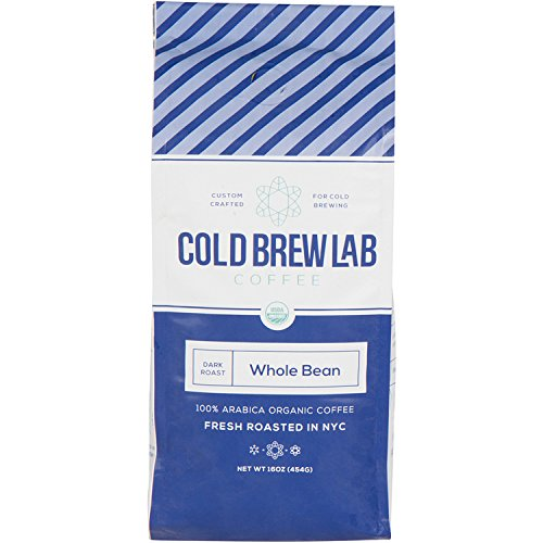 Cold Brew Lab Structural Coffee Crafted for Cold Brewing, Whole Bean, Dark Roast, 1 LB Bag