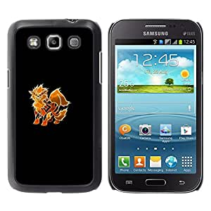 LECELL--Funda protectora / Cubierta / Piel For Samsung Galaxy Win I8550 -- Foxfire P0kemon --