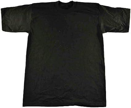 3 NEW SHAKA WEAR SUPER MAX HEAVY WEIGHT T-SHIRTS BLACK TEE PLAIN 7XL