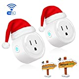 Tools & Hardware : Wifi Smart Plug, Tonbux Switch Outlet Mini with Timing Function for IOS/Android, Works with Amazon Alexa & Google Home, No Hub Required, App Control Your Devices from Anywhere Anytime (2 Packs)