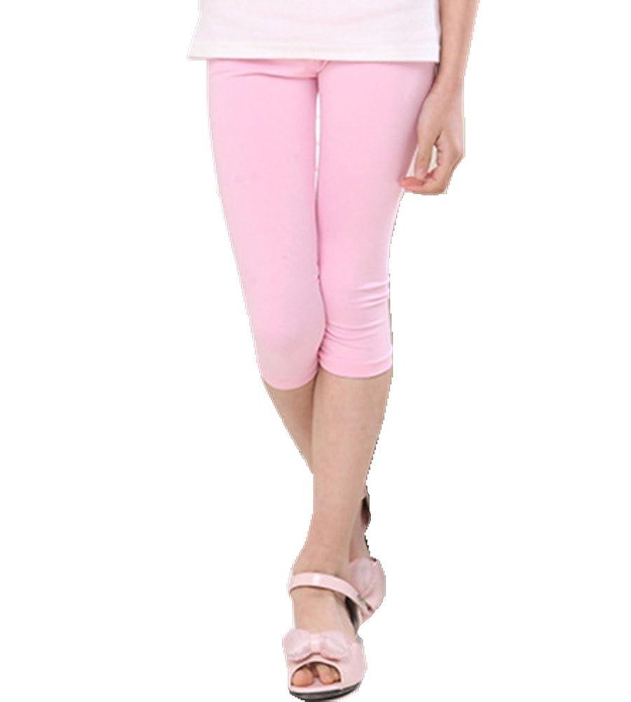 Sizes 3-8Years Mullsan Kids Girls Capris Crop Cotton Leggings Tights pants