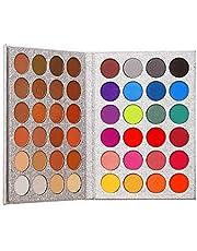 Beauty Glazed 48 Colors Eyeshadow Palette shine & matte Makeup Eye shadow Glitter Pigmented Eyeshadow Waterproof Durable Professional eye makeup palette