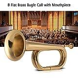 Muslady B Flat Bugle Call Trumpet Brass Cavalry