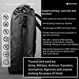 Silent Pocket Faraday Waterproof Backpack - Signal