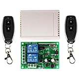 220V 2-Way Wireless Remote Control Switch Controller with 433Mhz Two-Way 2 Button 1527 Learning Remote Control Modification Accessories