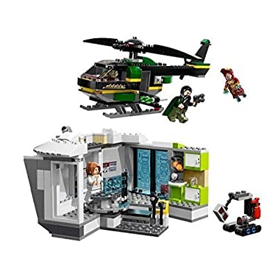 LEGO Super Heroes Iron Man Malibu Mansion Attack (76007): Toys & Games