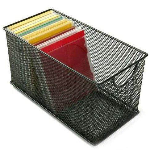 Design Ideas CD Box Mesh Black