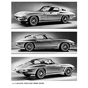 1963 Chevrolet FI Corvette Coupe Factory Photo