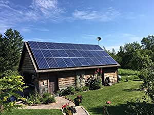 Amazon Com 5000w 5kw Solar Panel Kit Grid Tie And Ground