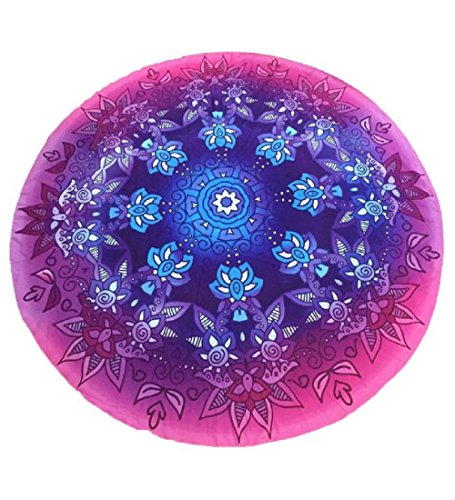 OVERMAL 2016 Ombre Round Mandala Tassel  - Jade Round Wall Hanging Shopping Results