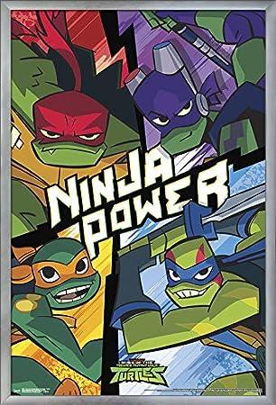 Teenage Mutant Ninja Turtles poster wall art home decor photo print 24x24 inches
