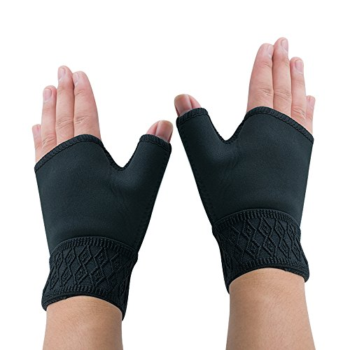 Enshey 1Pair Arthritis Gloves Therapy Gloves Therapy Gloves Thumb Hand Wrist Support Arthritis Compression Medical Support Gloves Carpal Tunnel Weak Hand Wrists Aching Compression by Enshey