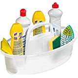 Balaio Limpeza Oval Plástico Sanremo Transparente Plástico