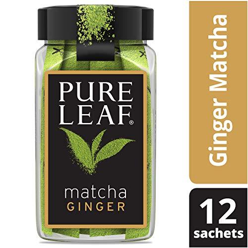 Pure Leaf Matcha Sachets, Matcha Ginger, 12 ct