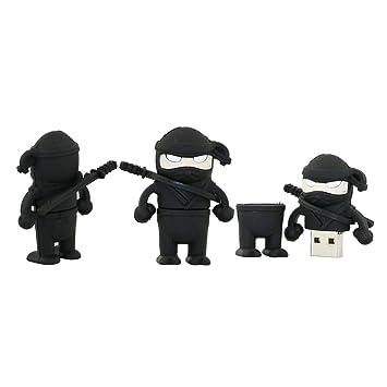 Amazon.com: 4GB Ninja Shape USB Flash Drive USB Drive USB ...