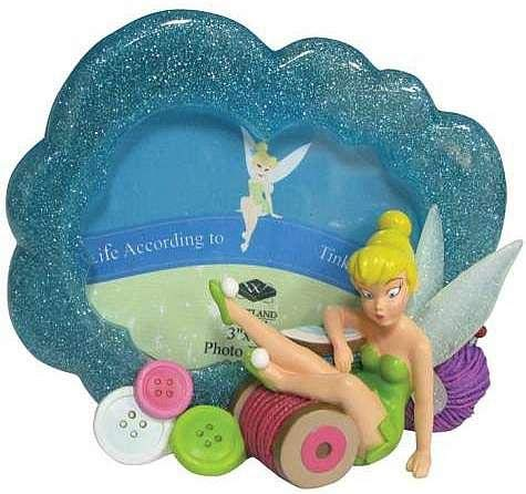 Westland Giftware Disney Tinker Bell Fallen Pixie Photo Frame, 3 by 4-Inch