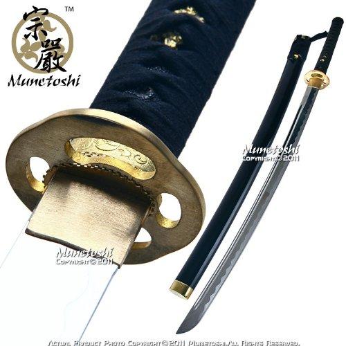 Munetoshi Aluminum Alloy Training Iaito Iaido Practice Katana Korean Sword Unsharpened