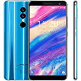 UMIDIGI A1 Pro Smart Phone 3GB+16GB Face & Fingerprint Identification 5.5INCH Screen Android 8.1 MTK6739 Quad Core up to 15GHz GSM & WCDMA & FDD-LTE/Blue