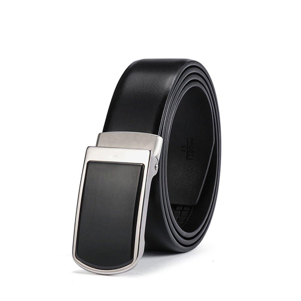 Belt,Men's Stainless steel Business fashion wild Belt-A 115cm(45inch)