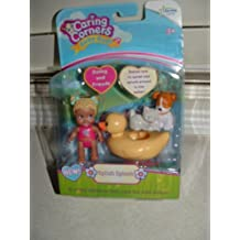 Caring Corners Baby Buds Girl with Rubber Duck & Friends ~Splish Splash Figures