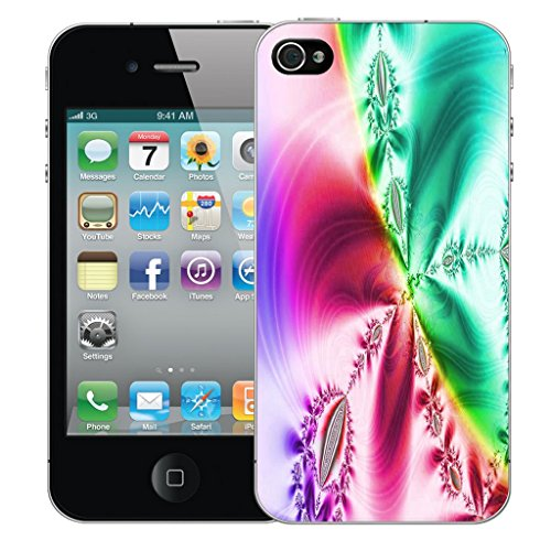 Mobile Case Mate iPhone 4 Silicone Coque couverture case cover Pare-chocs + STYLET - Trendsetting pattern (SILICON)