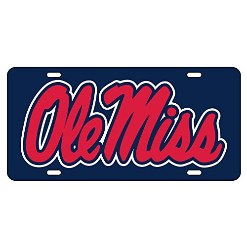 Ole Miss Rebels License Plate - 5