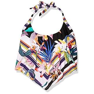 Trina Turk Women's Halter Handkerchief Tankini Swimsuit Top