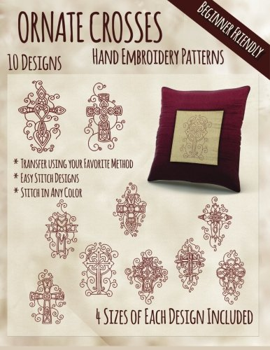 (Ornate Crosses Hand Embroidery)