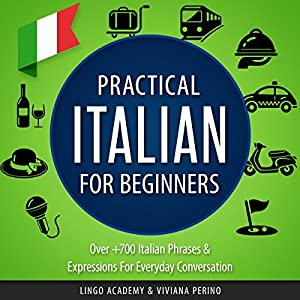 Practical Italian for Beginners Audiobook