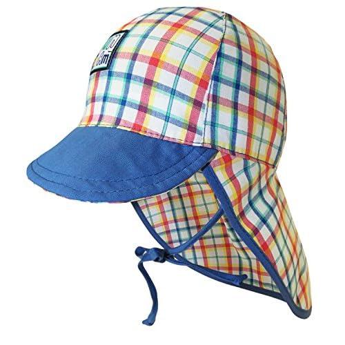 EveryHead Fiebig Tapa Del Cuello Para Niños Gorro De Protección Sombrero La  Verano Marca Niño Pequeño 2d0a25cd331