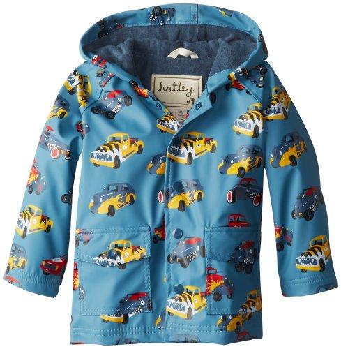 Hatley Boys Hot Rods Raincoat