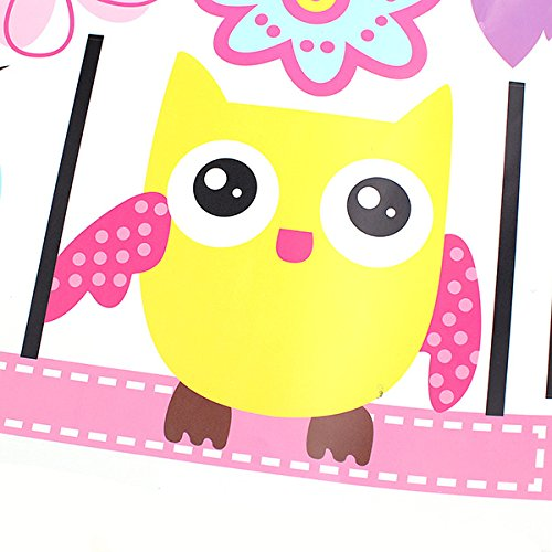 Pom Juice Bottle Costume (ThanaphatShop Owls On the Swing Colourful Tree PVC Removable Wallpaper 78AB)