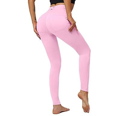 WEIMEITE Pantalones De Yoga De Cadera Sexy para Mujer Pantalones ...