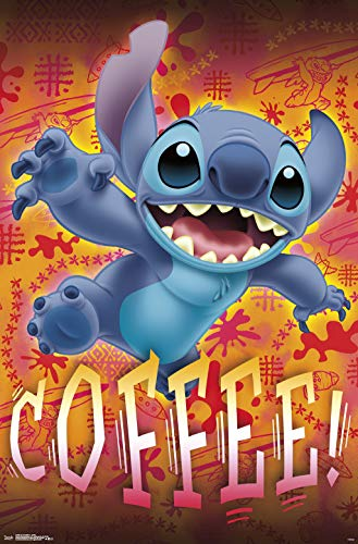Trends International Lilo and Stitch - Coffee Wall Poster 22.375