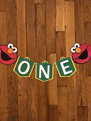 Elmo - Sesame Street High chair banner ()