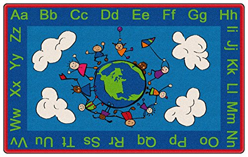 Happy World Kids Area Rug 5'x8'