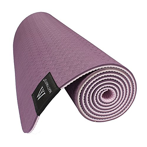 Training Mat Strap: Matymats Non Slip TPE Yoga Mat With Carry Strap For Hot
