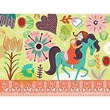 Horsey Love Canvas Art Size: 18'' H x 24'' W x 1.5'' D, Color: Brunette