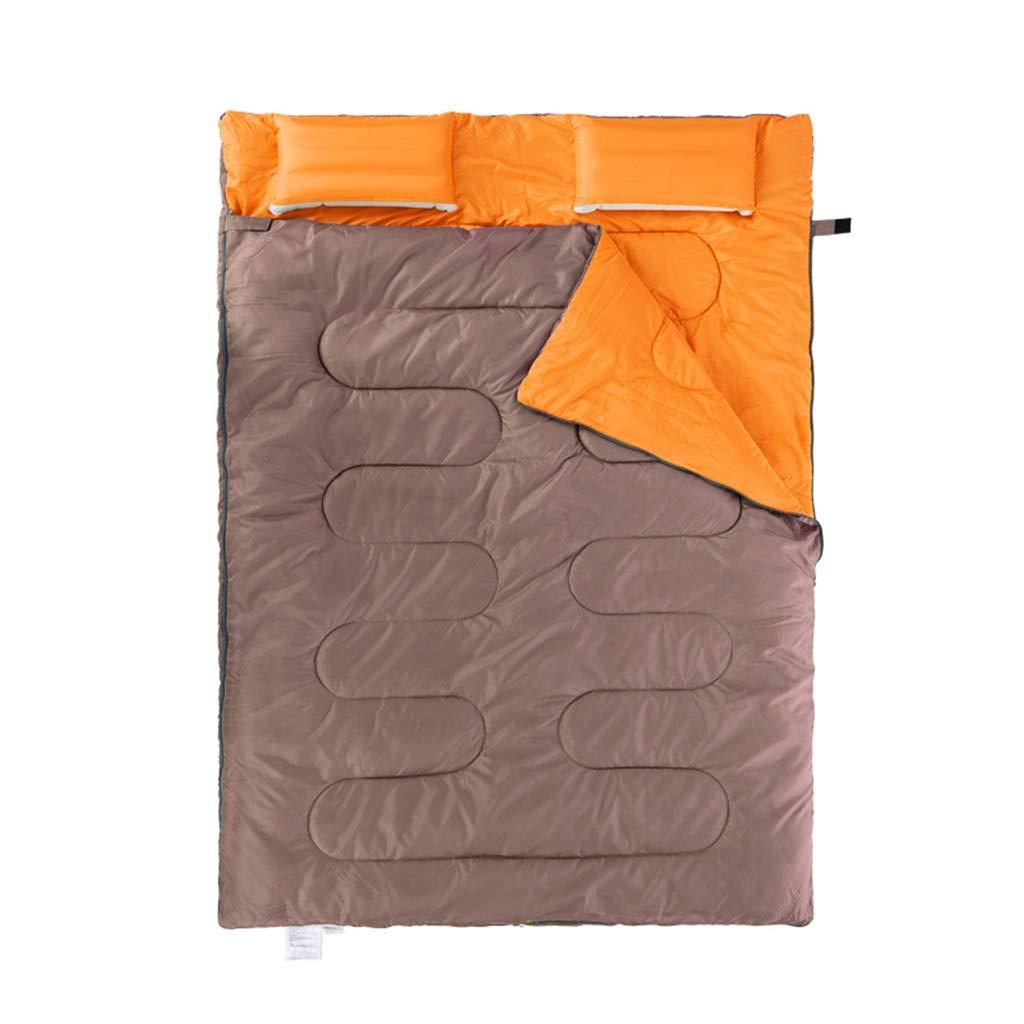 寝袋アウトドアキャンプ屋内ランチブレイクホテルダーティダブルウォームポータブル(5°C-10°Cに最適) (色 : B) B07P5MKGYT C  C