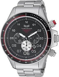 Vestal Unisex ZR2027 ZR2 Analog Display Quartz Black Watch